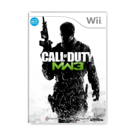 Jogo Call of Duty: Modern Warfare 3 - Wii
