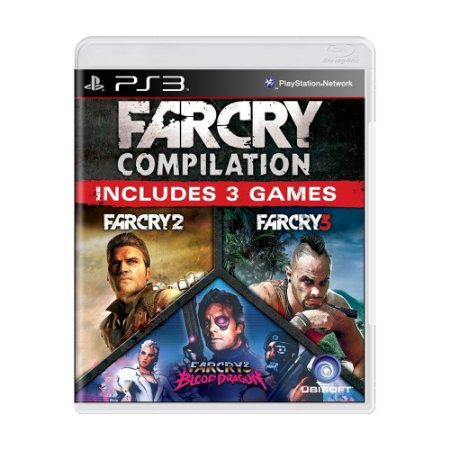 Jogo Far Cry Compilation (Far Cry 2 + Far Cry 3) - PS3