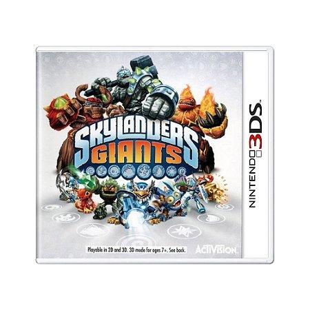 Jogo Skylanders Giants - 3DS