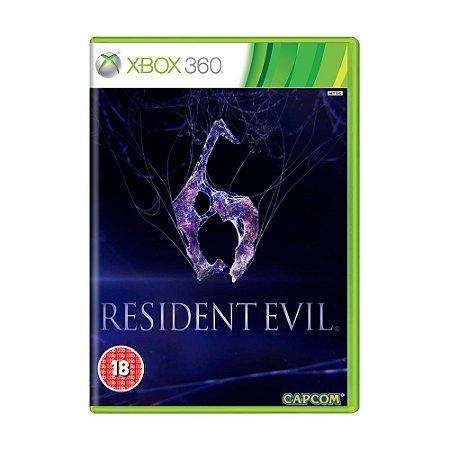 Jogo Resident Evil 6 - Xbox 360 [Europeu]