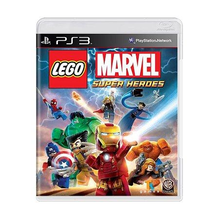 Jogo LEGO Marvel: Super Heroes - PS3