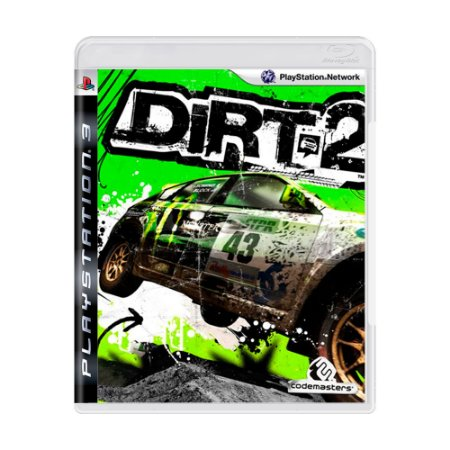 Jogo Dirt 2 - PS3