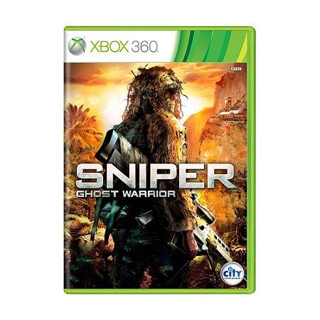 Jogo Sniper Ghost Warrior- Xbox 360