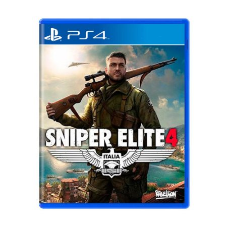 Jogo Sniper Elite 4 - PS4