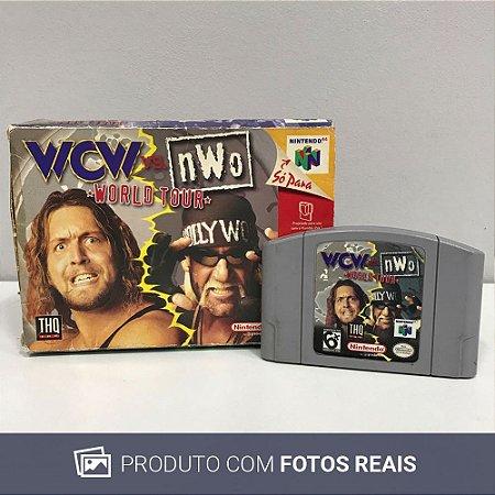 Jogo  WCW vs. nWo: World Tour - N64