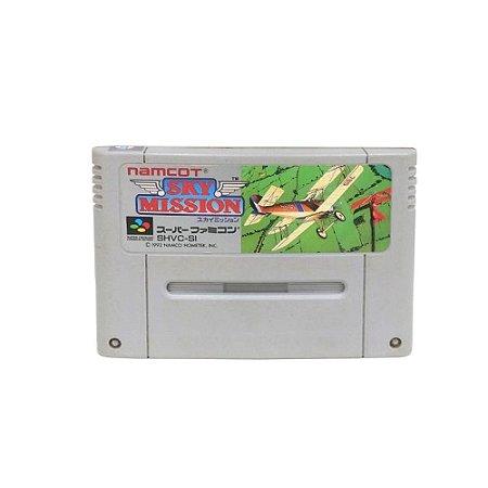 Jogo Sky Mission - Super Famicom