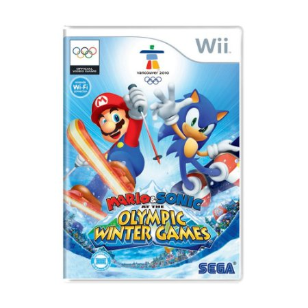Jogo Mario & Sonic: At the Olympic Winter Games Vancouver 2010 - Wii