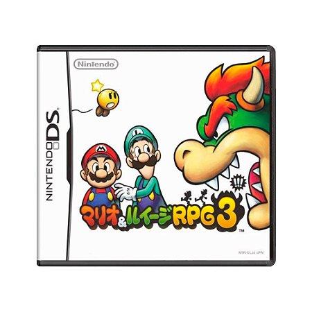 Jogo Mario & Luigi: Bowser's Inside Story - DS [Japonês]
