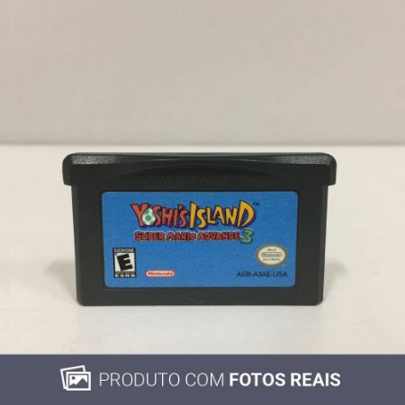 Jogo Super Mario Advanced 3 Yoshi's Island - GBA
