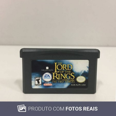 Jogo The Lord Of The Rings: The Two Towers - GBA