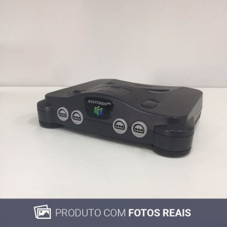 Console Nintendo 64 - Nintendo [Europeu] (Somente o Console)