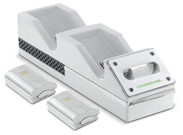 Base carregadora e baterias Nyko - Xbox 360