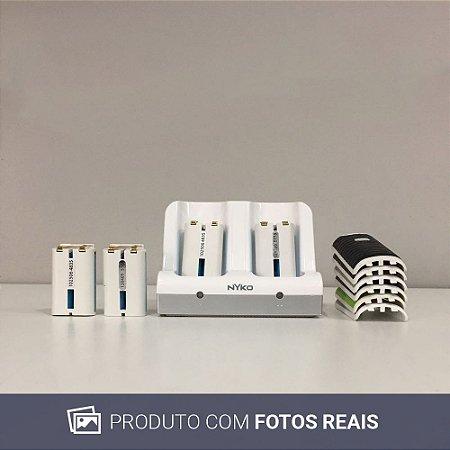 Base carregadora e baterias Nyko - Wii