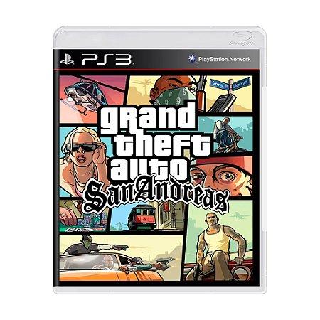 Jogo Grand Theft Auto: San Andreas (GTA) - PS3