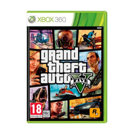 Jogo Grand Theft Auto V (GTA 5) - Xbox 360 [Europeu]