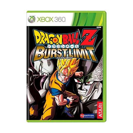 Jogo Dragon Ball Z: Burst Limit - Xbox 360