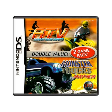 Jogo ATV: Thunder Ridge Riders + Monster Trucks: Mayhem - DS