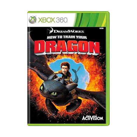 Jogo How to Train your Dragon (Como Treinar Seu Dragão) - Xbox 360