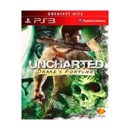 Jogo Uncharted: Drake's Fortune - PS3 (Capa Dura)