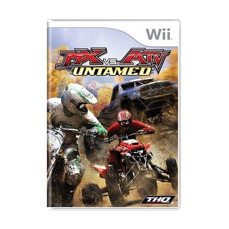 Jogo MX vs. ATV: Untamed - Wii