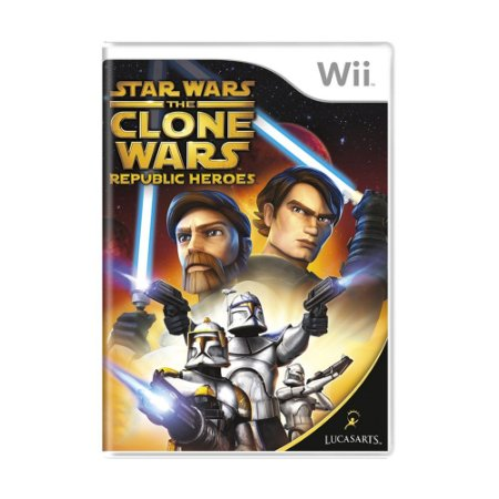 Jogo Star Wars The Clone Wars: Republic Heroes - Wii