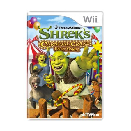 Jogo Shrek's Carnival Craze Party Games - Wii