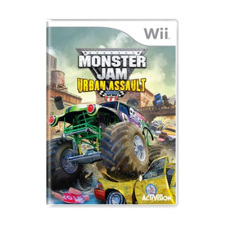 Jogo Monster Jam: Urban Assault - Wii