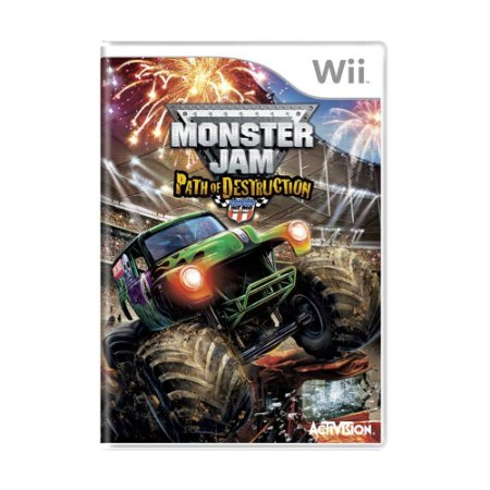 Jogo Monster Jam: Path of Destruction - Wii