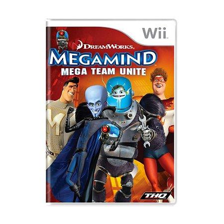 Jogo Megamind: Mega Team Unite - Wii