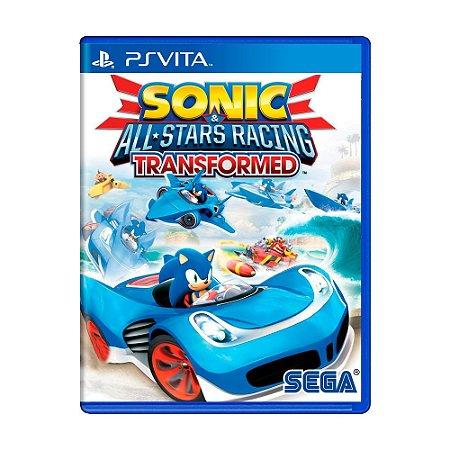 Jogo Sonic All-Star Racing Transformed - PS Vita