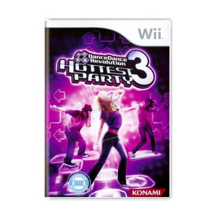 Jogo Dance Dance Revolution Hottest Party 3 - Wii