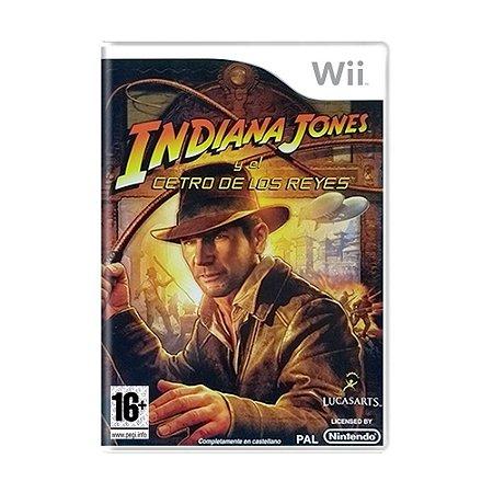 Jogo Indiana Jones Y El Cetro de Los Reyes - Wii