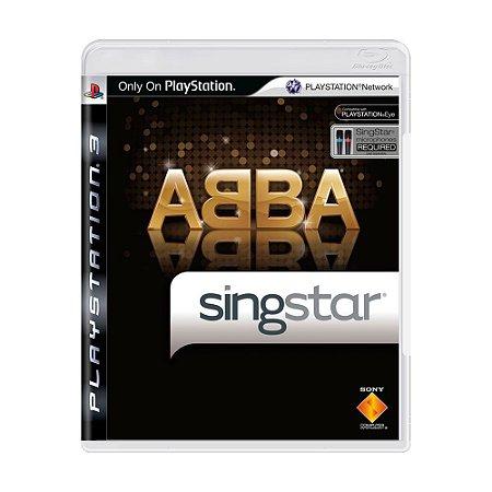 Jogo Singstar ABBA - PS3