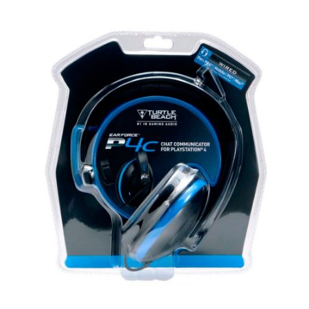 Headset Turtle Beach Ear Force P4C com fio - PS4, PC, Mac e Mobile
