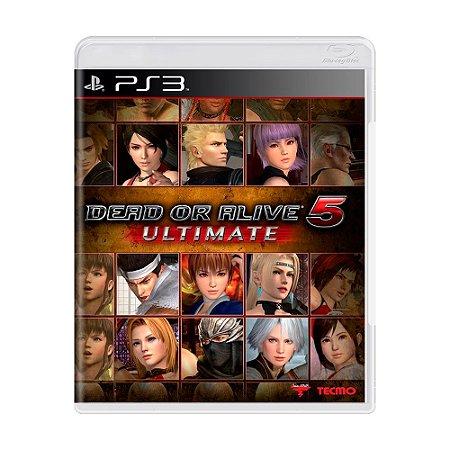 Jogo Dead or Alive 5 Ultimate - PS3