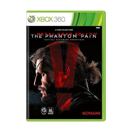 Jogo Metal Gear Solid V: The Phantom Pain - Xbox 360