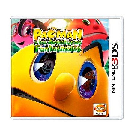 Jogo Pac-man y Las Aventuras Fantasmales - 3DS