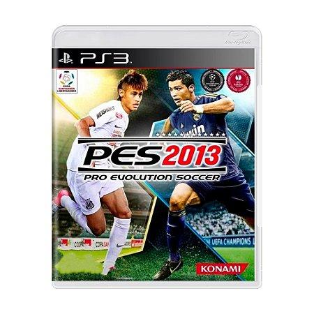 Jogo Pro Evolution Soccer 2013 (PES 13) - PS3