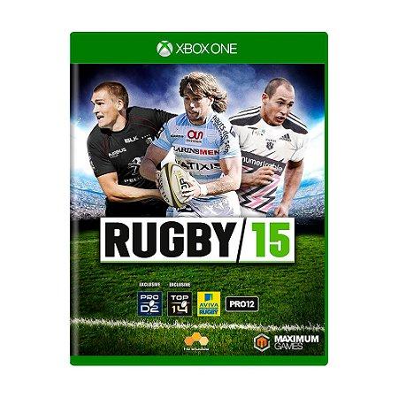 Jogo Rugby 15 - Xbox One