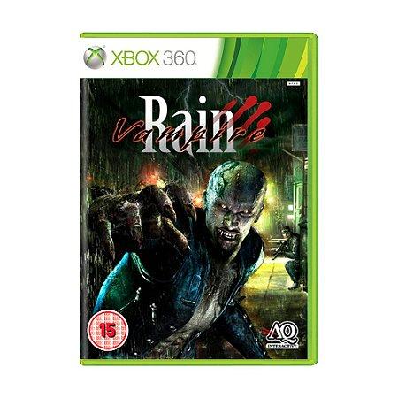 Jogo Vampire Rain - Xbox 360
