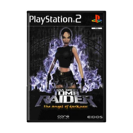 Jogo Tomb Raider: The Angel of Darkness - PS2