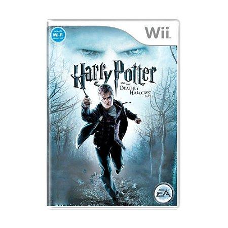 Jogo Harry Potter e as Relíquias da Morte - Wii