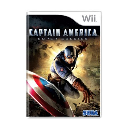 Jogo Captain America: Super Soldier - Wii