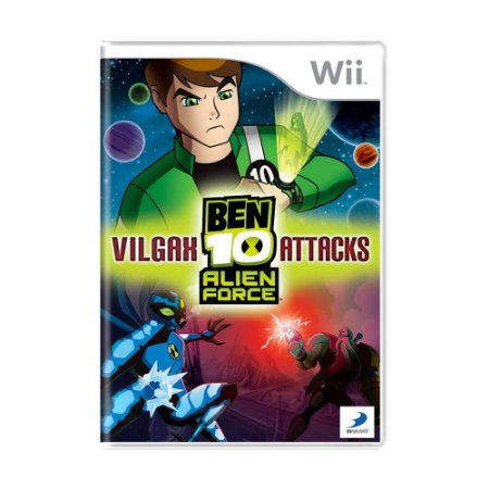 Jogo Ben 10: Alien Force Vilgax Attacks - Wii