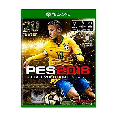 Jogo Pro Evolution Soccer 2016 (PES 16) - Xbox One
