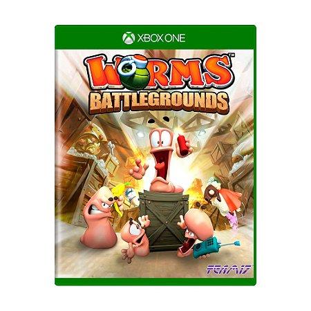 Jogo Worms: Battlegrounds - Xbox One