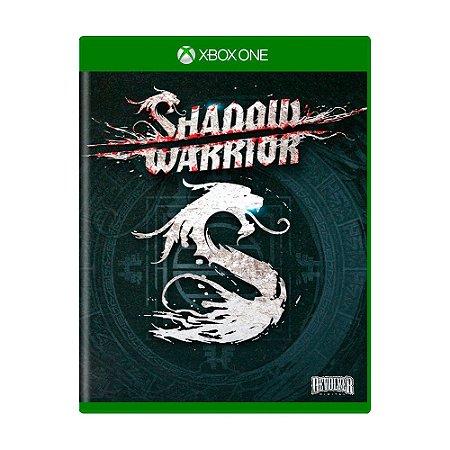 Jogo Shadow Warrior - Xbox One