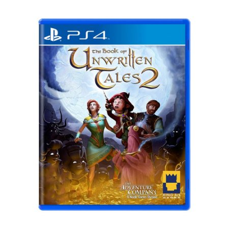 Jogo The Book Unwritten Tales 2 - PS4