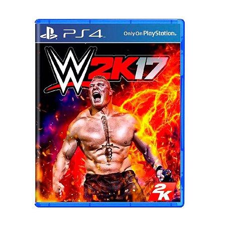 Jogo WWE 2K17 - PS4