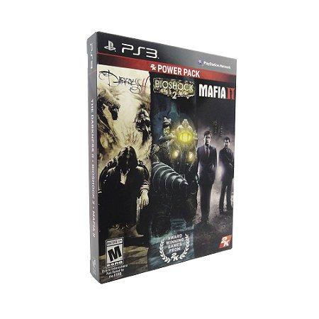 Jogos 2K Power Pack: Mafia II + Bioshock 2 + The Darkness 2 - PS3